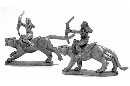 Amazons Cat Riders with bow
