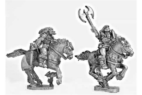 Barbarian Cavalrymen