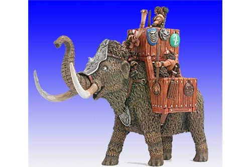 Barbarian War Mammoth