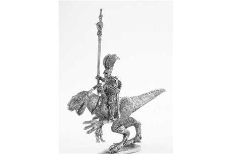 Dark Elf Standard bearer Raptor rider