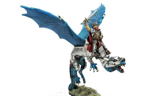 Paladin driving an Armoured Dragon
