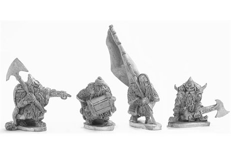 Dwarves Double handed Axe command