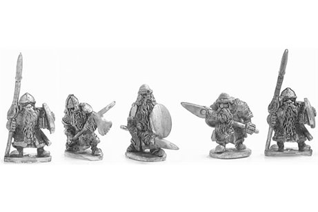 Dwarves with spear