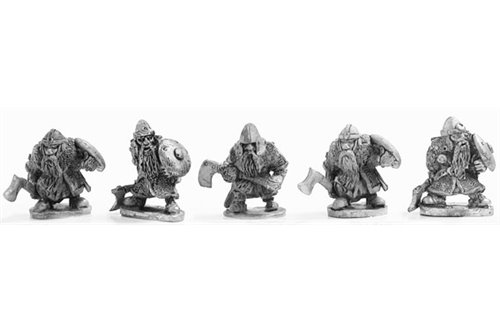 Dwarves with axe