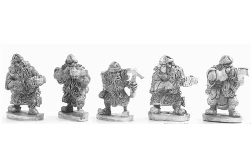 Dwarves with crossbow