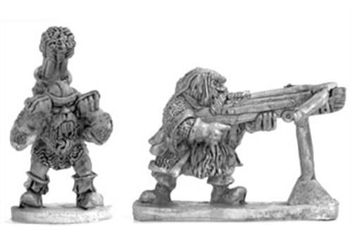 Dwarves with giant crossbow
