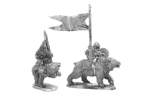 Dwarf with spear Command Group