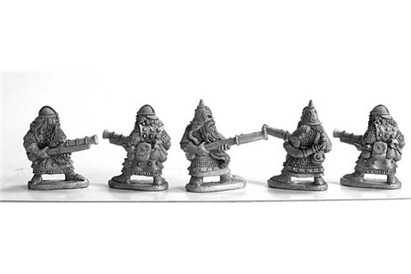 Dwarves with handgunner