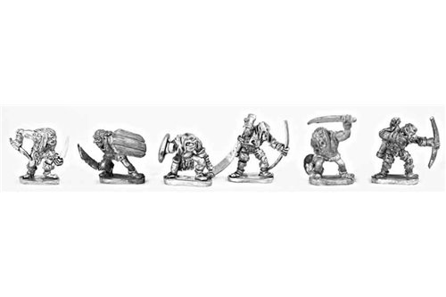 Lesser Goblins with mixed Weapons