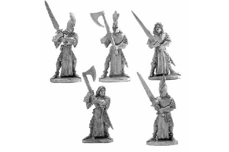 High Elves with Two Handed Weapons