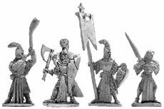 High Elf Infantry Command Group 2