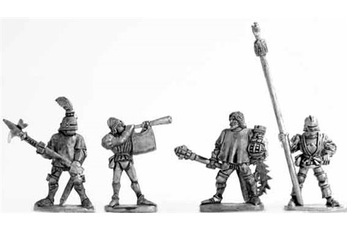 Halberdier Command Group