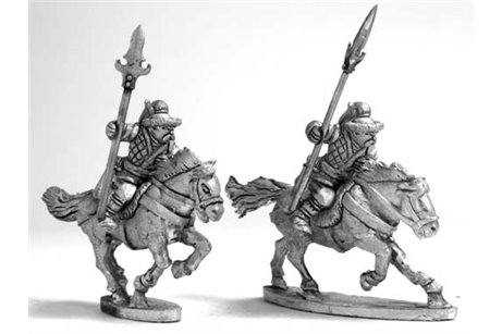 Steppe''s Horse raiders with lance'