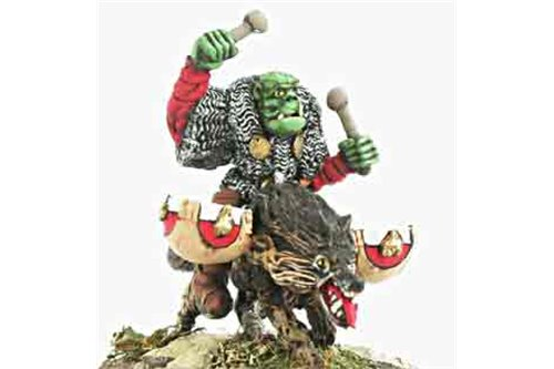Orc Standard bearer and Drummer