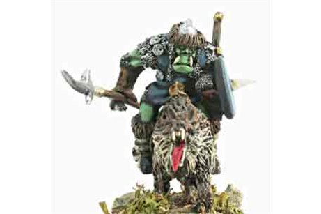 Orcs Wolf Riders with Pole Arm