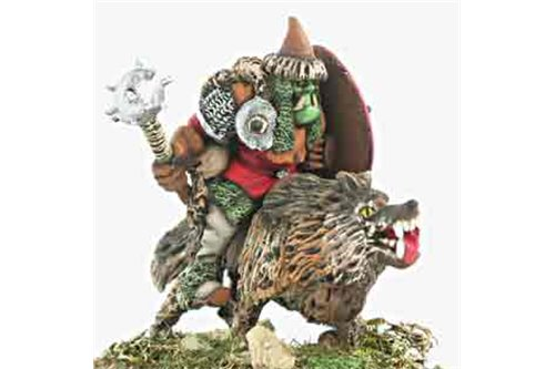 Orc Warchief Wolf rider