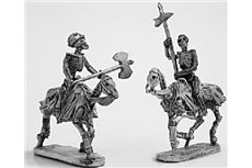Skeleton Cavalry with two handed weapons 1