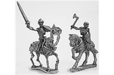 Skeleton Cavalry with weapons and shield 1