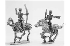 Skeleton Cavalry with bow and javelin