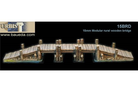 1 modular rural wooden bridge