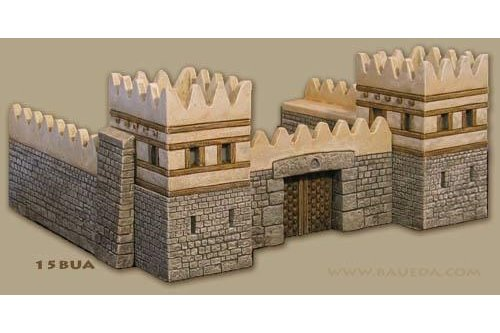 15mm ANE walled city set
