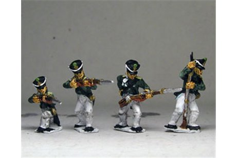 Musketeers / Jagers NO Backpack Skirmish / Firing Line ( 4 variants)