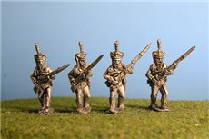 Grenadiers / Guard / Carabinier Advancing (4 variants)