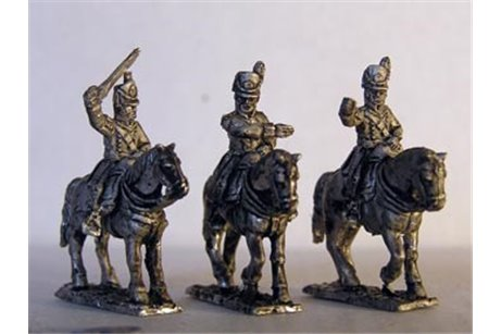 British Colonels x 3 different mounted figures