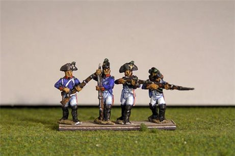 Fusiliers Firing Line / Skirmish in Bicorne (1791-1808) Full Dress