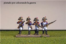 Grenadiers Firing Line/Skirmish in Bicorne (1791-1808)  & Voltigeurs from 1804 Full Dress
