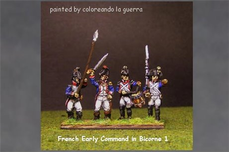 French Early Command in Bicorne (1791-1808) 1.