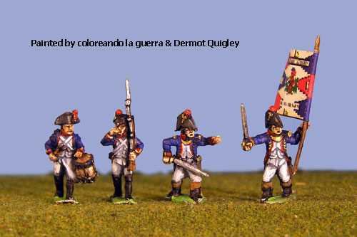 French Early Command in Bicorne (1791-1808) 2.