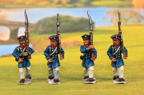 Prussian Landwehr Marching (4 variants)