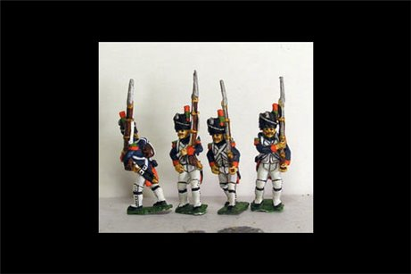 Old Guard Chasseurs Marching in Full Dress (1804-15)