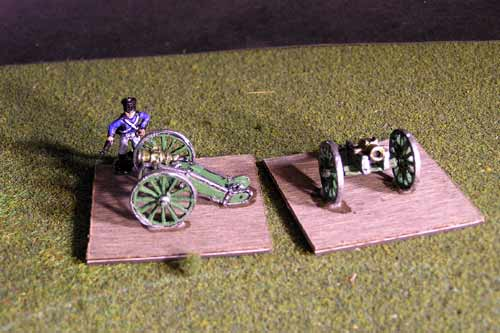 French Howitzer x 2 models