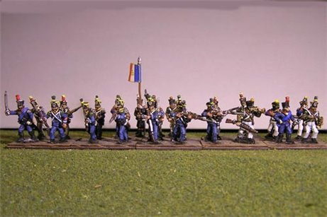 French Light Firing Line 12 figs