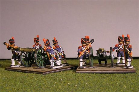 Old Guard 12lb Foot Battery with 8 crew