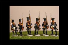 Prussian Line Infantry Marching (4 variants)