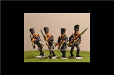 Prussian Line Infantry Advancing (4 variants)
