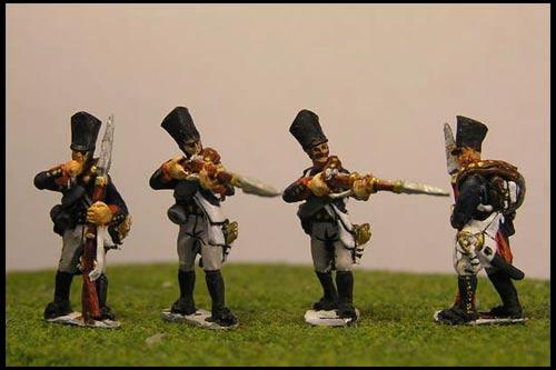 Prussian Line Infantry Firing Line / Skirmsih (4 variants)