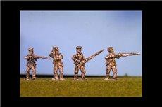 Prussian Reserve Infantry Firing Line / Skirmishing  in Caps (4 variants, 2 of each)