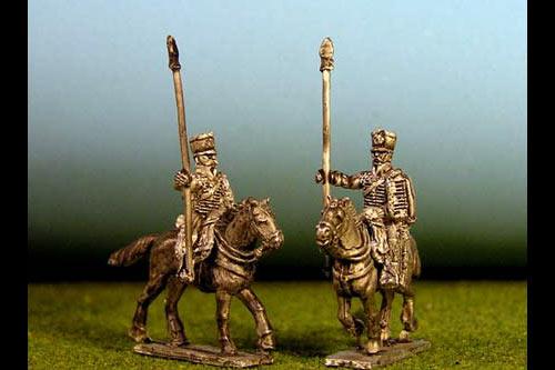Hussars Standard Bearer in shako