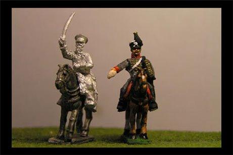 Thieleman & ADC (III Corps Commander Waterloo)