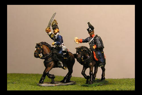 Bulow von Dennewitz & ADC (IV Corps Commander Waterloo)