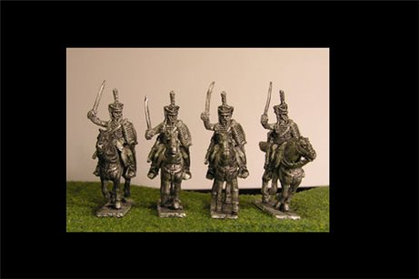 Hussars Charging (3 variants)