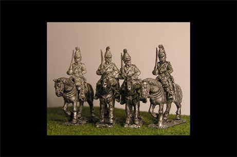 Cuirassiers at Rest x4 (1 variant)