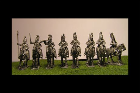 Dragoons at Rest with Command x 8 figures