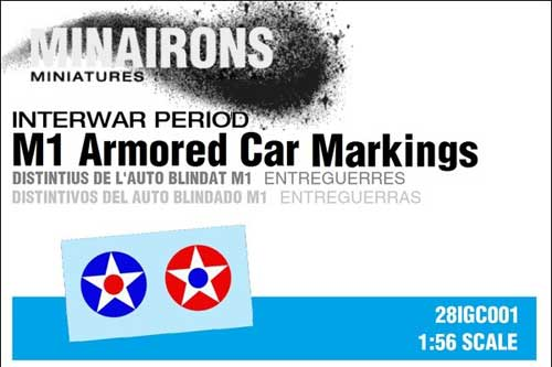 M1 Armored Car Markings