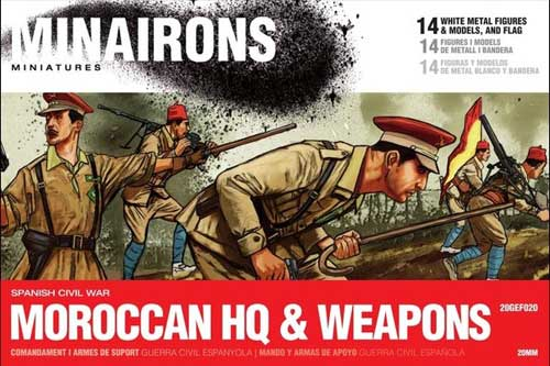 Moroccan HQ & Weapons