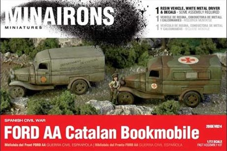 Ford Catalan bookmobile